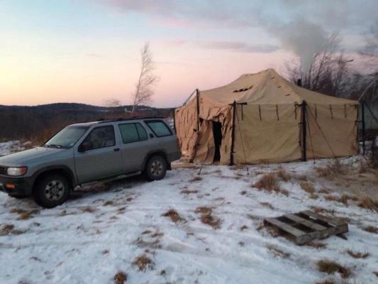 18x18 MGPTS Tent & 18x18 MGPTS Tent - Hunting Trades