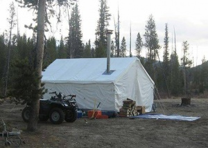 13 x 16 Wall Tent & Tents - Hunting Trades